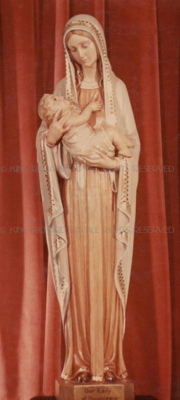 Mary Our Lady Of Divine Providence Hand Carved Wood